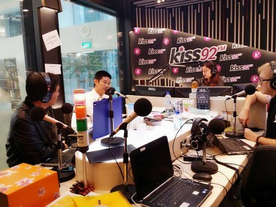 Ankle Ligament Injury Interview on Kiss92
