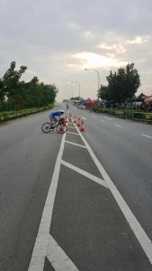 OCBC Cycle National Road Championship at Seletar Aerospace