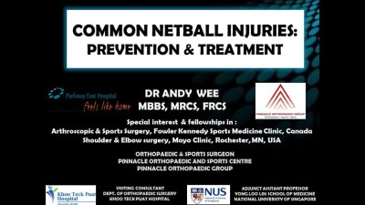 prevention and treatment for common netball injuries