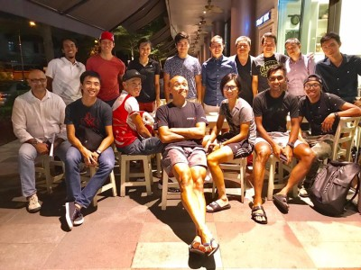 SEA Games 2017 Team SG Cycling