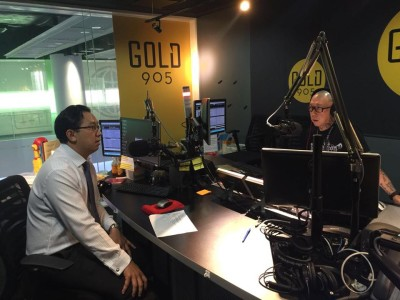 Dr Victor Seah Gold FM 90.5 a