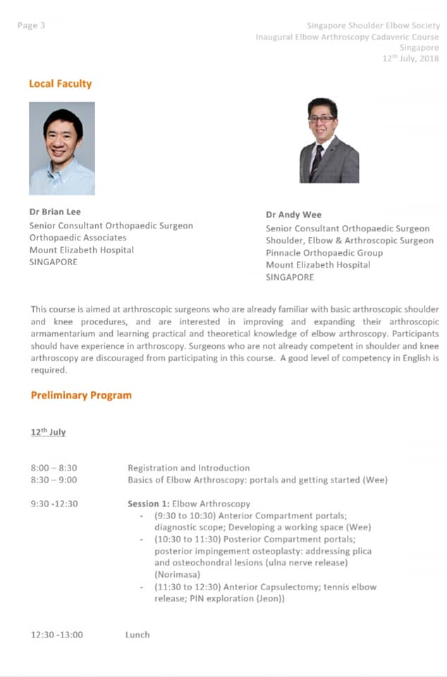 elbow-arthroscopy-cadaveric-course-in-Singapore-and-the-South-East-Asia-region.-Dr-Andy-Wee