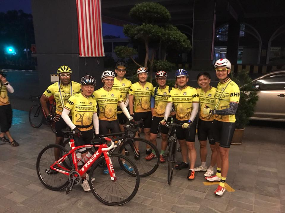 cycle event ride for ration 2018