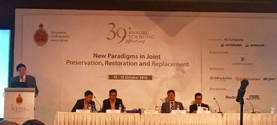 Chairperson of Joint Preservation Symposium at Singapore Orthopaedic Association 39th ASM
