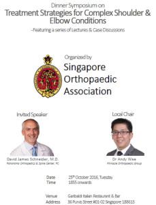 Shoulder & Elbow Dinner Symposium Singapore