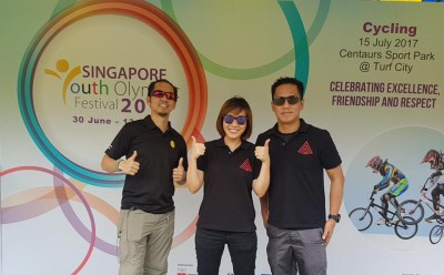 Singapore Youth Olympic Festival - medical support partner