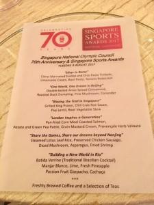 SNOC Singapore Sports Awards 2017