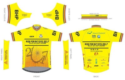 Ride for Rations 2017 Jersey