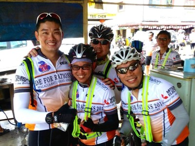Cycling for a Cause - Ride for Rations 2014