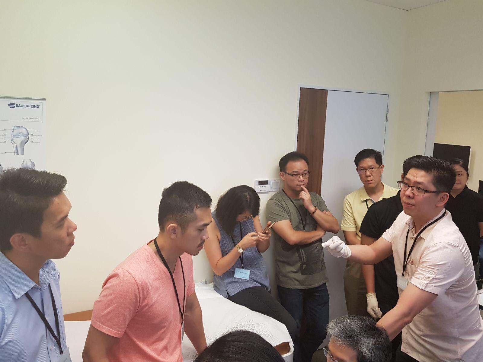 Shoulder and Knee Injection Workshop e