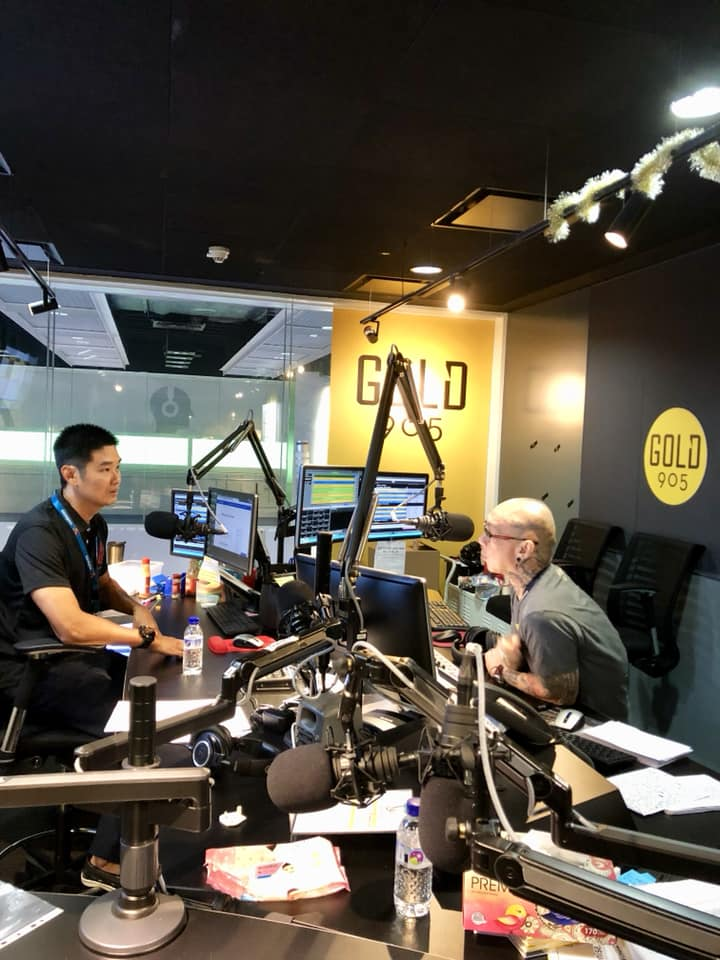 Dr Kevin Lee on Gold 90.5 FM