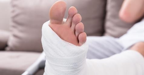 Fall injuries - facts about foot and ankle fractures
