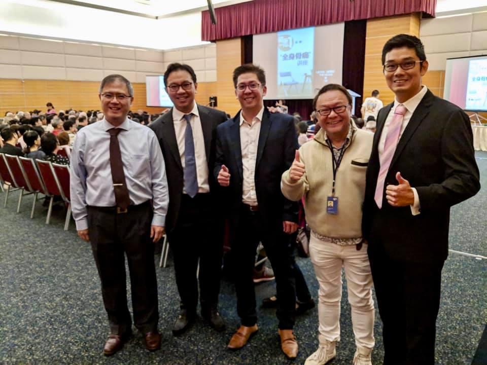 Doctors from Pinnacle Orthopaedic Group Mandarin Public Forum