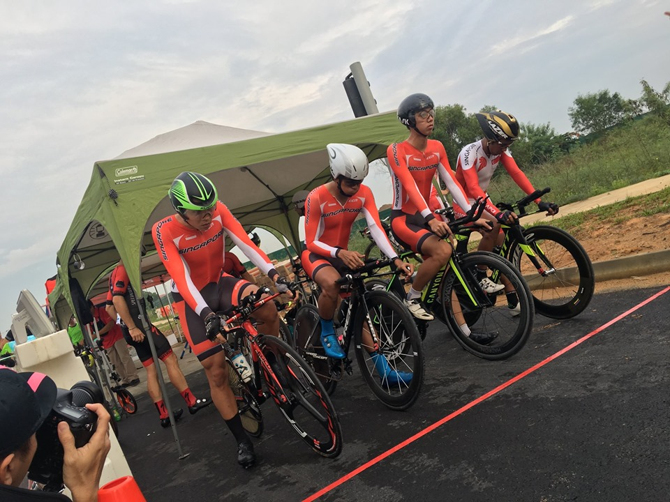 Medical Support for OCBC Cycle National Road Championship 2019, Team Time Trial