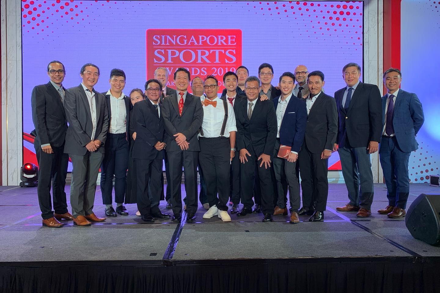 Singapore Sports Award 2019 SCF Dr Kevin Lee